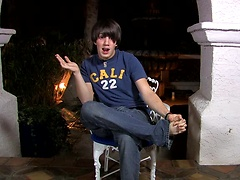 Jordan Long is a sex addict with one very active past; he sits down to talk sex with Bryan before rubbing one out.