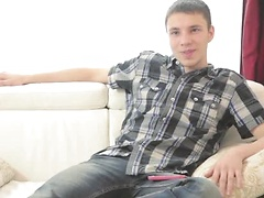 Deryk is an eighteen year old straight boy.   Well hello!! He's adamant about being a top and we are sooooo lucky ...
