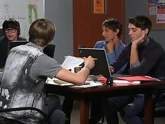 Students groupsex