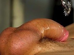Master of cock edging Sebastian drains two loads from Reece's big uncut dick