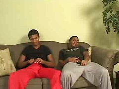 Pasceo and Peter return to DT with an couch fuck extravaganza. After sharing some mutual oral appreciation, Pasceo ...