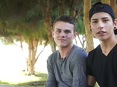 Introducing on and off screen sweethearts Aiden Garcia & Elliot Grey