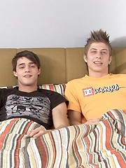 Threesome lovely twinks oral scene