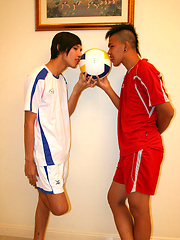 Straight asian boys facial bukakke - Gay boys pics at Twinkest.com