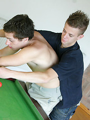 Playful boys go for hotter ball game