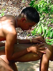 Black boys threesome loving outdoor - Gay boys pics at Twinkest.com
