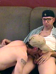 Nerdy gay daddy gets some fresh young ass - Gay boys pics at Twinkest.com