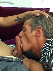 Tattooed boy stretches old gay ass - Gay boys pics at Twinkest.com