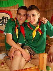 Cute wanking and sucking scout boys - Gay boys pics at Twinkest.com