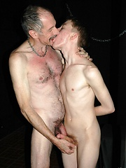 Grandpa having a hot twink hole to plow - Gay boys pics at Twinkest.com
