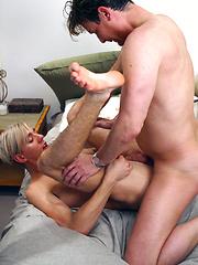 Cute twink Seth gets fucked by dad Sebastian Court - Gay boys pics at Twinkest.com