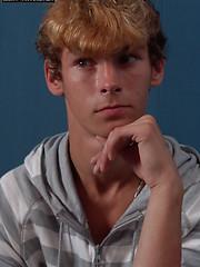 The hottest scene of jerking redhead boy