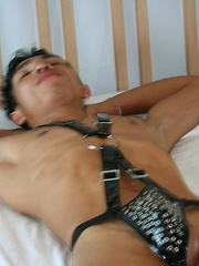 Hot Asian Boys in Bondage Boy Orgy