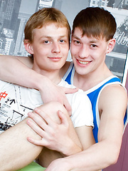Bareback teen boys Paul & Andrew - Gay boys pics at Twinkest.com