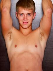 Beautiful blue-eyed Bailey solo stroking - Gay boys pics at Twinkest.com