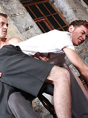 Jacob is punished by his cruel teacher, Mr Jenkins - Gay boys pics at Twinkest.com