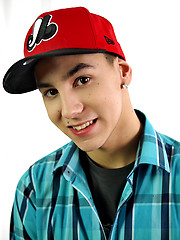 Joey Lafontaine is an adorable, boyish 18 year old, whose face lights up with a smile every time he talks with you