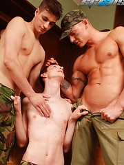 A Spanking Good Time For New Recruit Maddox Results In Hot Wax, Hot Jizz Pleasure! - Gay boys pics at Twinkest.com