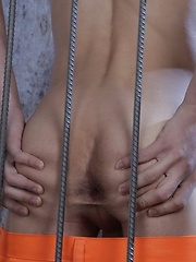 Prison-Boy Takes Every Raw Inch That His Buff Guard Has To Offer! - Gay boys pics at Twinkest.com