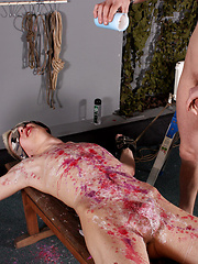 Reece Gets Waxed And Fed - Gay boys pics at Twinkest.com