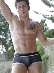 Handsome Hunk Gives Cock-Slut Blond A Never-To-Be-Forgotten Poolside Raw Slamming! - Gay boys pics at Twinkest.com