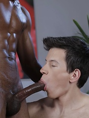 Kris Wallace Takes Every Thick Black Inch Of Barrington Peart's Oversized Ramrod! - Gay boys pics at Twinkest.com