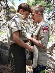 Bareback Scouts Earn A Badge - Gay boys pics at Twinkest.com