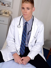 The Doctor Will See You Now – And For This Cute Student That Means A Hard, Raw Ass-Fuck!