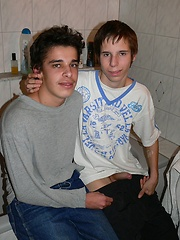 Richard Kooole and Denis Rakay sucking - Gay boys pics at Twinkest.com