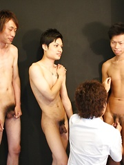Four boys begin, but who will cum in the end - Gay boys pics at Twinkest.com