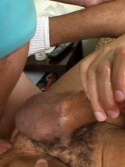 Tony strokes his hard cock - Gay boys pics at Twinkest.com
