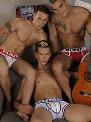 Dick & Tom Double-Fuck Brit-Boy Connor Levi & Then Jizz All Over His Face! - Gay boys pics at Twinkest.com