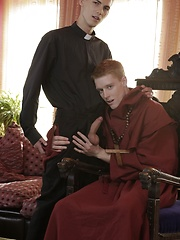 Priestly Machinations Result In Brad Fitt Getting Fucked Raw By A Red-Headed Monk's Monster Dick! - Gay boys pics at Twinkest.com