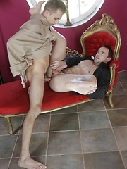 Father Salvatore commits sins of the flesh with brother Adrian - Gay boys pics at Twinkest.com