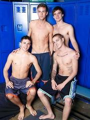 Circle Jerk Boys - Time For The Bukkake - Gay boys pics at Twinkest.com
