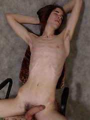 Skinny, long-haired twink Johannes comes from that alternative-looking subgroup of horny lads. In... - Gay boys pics at Twinkest.com