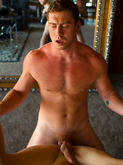 The thought of hot jock Connor Maguire giving a strong armed sensual message to Liam Riley - Gay boys pics at Twinkest.com