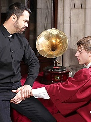 The Horny Deacon and His New Innocent Choirboy