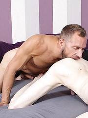 Canadian Hunk Misha Dante Can't Get Enough Of Aaron Aurora's Twink Ass - Gay boys pics at Twinkest.com