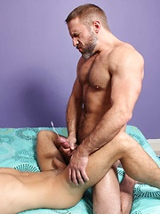 Twink Top Billy Rubens Discovers His Inner Bottom With Hunky Daddy Dirk Caber - Gay boys pics at Twinkest.com