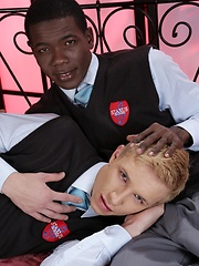 Blond Beauty Student Gets A Mega Black Cock Stuffing Courtesy Of Devon LeBron! - Gay boys pics at Twinkest.com