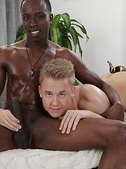 Chris & Alejandro Enjoy A Big Sausage Hook-Up - With Plenty of Creamy Sauce On The Side! - Gay boys pics at Twinkest.com