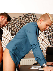 In Trouble With The Boss - Gay boys pics at Twinkest.com