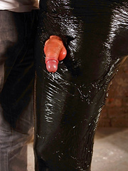 Wrapped In Plastic And Wanked - Gay boys pics at Twinkest.com