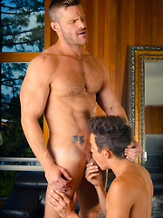 Andy's dreams come true when muscle hunk Landon Conrad takes him on the perfect lunch date - Gay boys pics at Twinkest.com