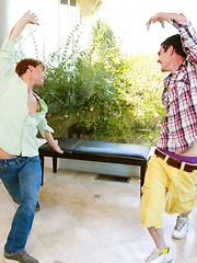 Tyler Morgan and Marco Russo Dirty Dancing - Gay boys pics at Twinkest.com
