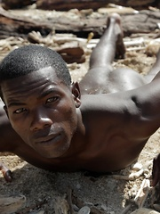 Beach-Time Fun For Mike James As He Sucks & Fucks Devon LeBron's Mammoth Black Dick! - Gay boys pics at Twinkest.com