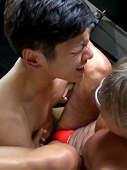 A Threesome: Ko, Kiba and Makoto Part Two - Gay boys pics at Twinkest.com
