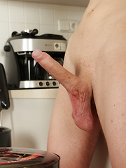 Sexy Tommy Marco masturbating on the kitchen counter. - Gay boys pics at Twinkest.com