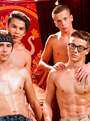 Brad Chase & Andy Taylor join Kody & Blake in hot groupsex - Gay boys pics at Twinkest.com